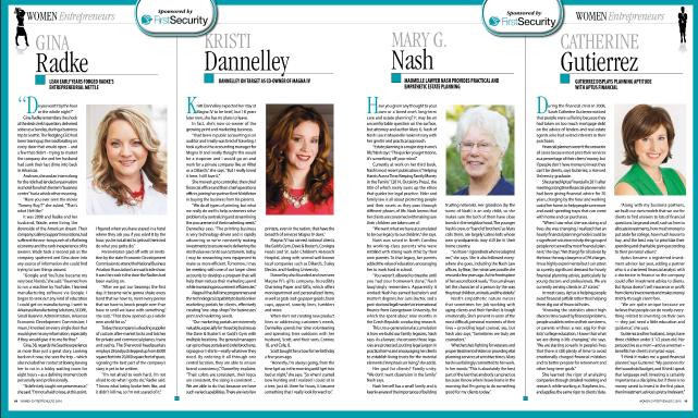 Kristi Dannelley Arkansas Times Women Entrenpreneur MagnaIV