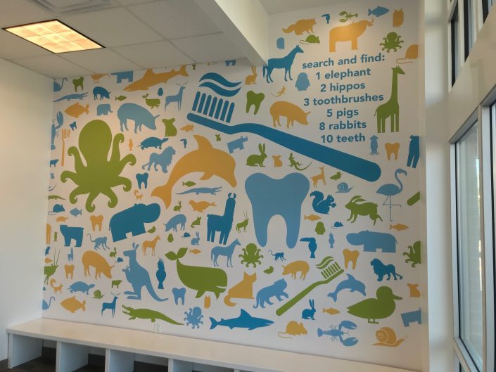 Wall Wraps, Wall Murals, Custom Walpaper, Lobby Signage, Vinyl Signage