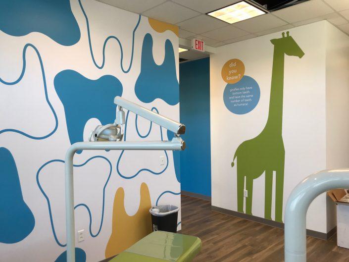 Custom wallpaper, wall mural, wall wrap, vinyl signage